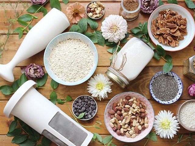 El equipo perfecto para tus leches vegetales caseras