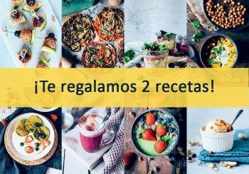 Delicias Kitchen: comida vegetariana sana y fácil. ¡Te regalamos 2 Recetas!