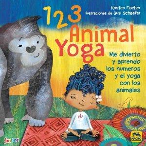 1 2 3 Animal Yoga - Libros